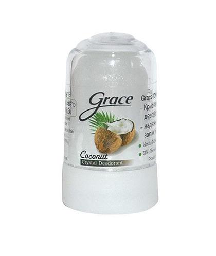 GRACE Дезодорант кристаллический Кокос 70 гр по выгодной цене в Москве