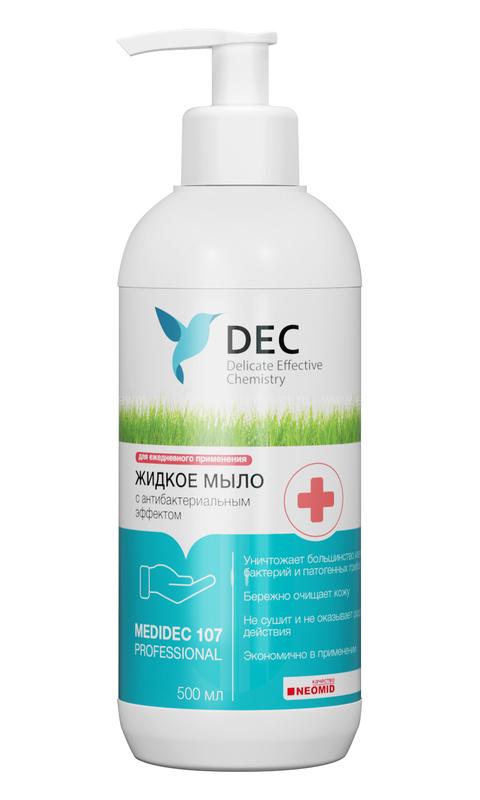 DEC MEDIDEC 107 HAND SOAP Жидкое мыло с антибактериальным эффектом 500мл  по выгодной цене в Москве
