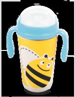 """Eco Baby Поильник детский 350мл с трубочкой """"Пчёлка"""""""