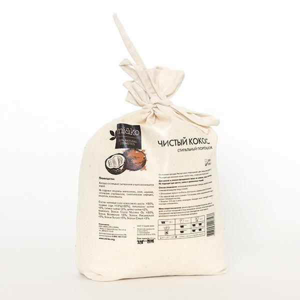 МИКО Стиральный порошок Чистый кокос 500 гр по выгодной цене в Москве