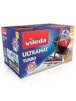 VILEDA Набор Ультрамат Турбо (швабра с телескопической ручкой+ведро с педальным отжимом)
