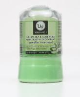 U&I  Дезодорант кристаллический с зеленым чаем и алоэ вера 45 гр