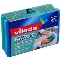 Vileda Губка для посуды Глитци 2 шт