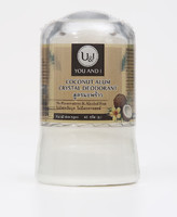 U&I  Дезодорант кристаллический кокосовый 45 гр