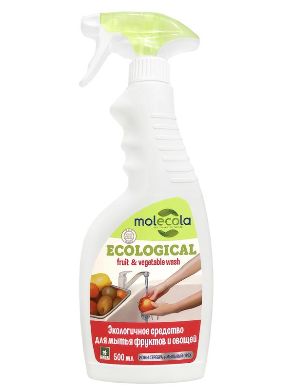 MOLECOLA Экологичное средство для мытья фруктов и овощей 500 мл по выгодной цене в Москве