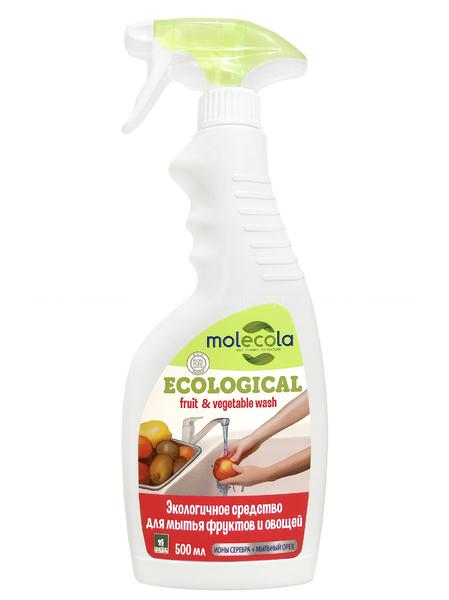MOLECOLA Экологичное средство для мытья фруктов и овощей 550 мл. по выгодной цене в Москве