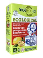 MOLECOLA Экологичный универсальный антинакипин 8шт