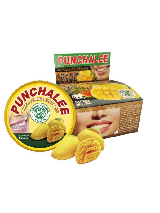PUNCHALEE Зубная паста растительная с манго 25г по выгодной цене в Москве