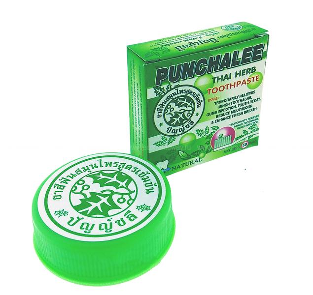 Punchalee зубная паста растительная 25 гр по выгодной цене в Москве