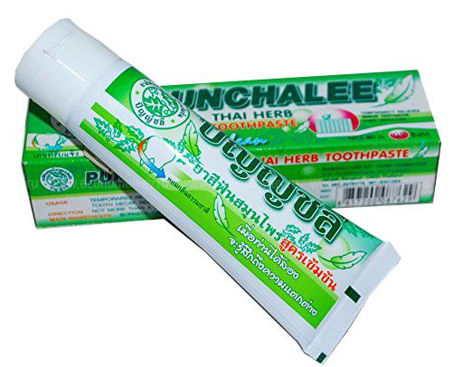 PUNCHALEE Зубная паста органическая с тайскими травами 30 гр по выгодной цене в Москве