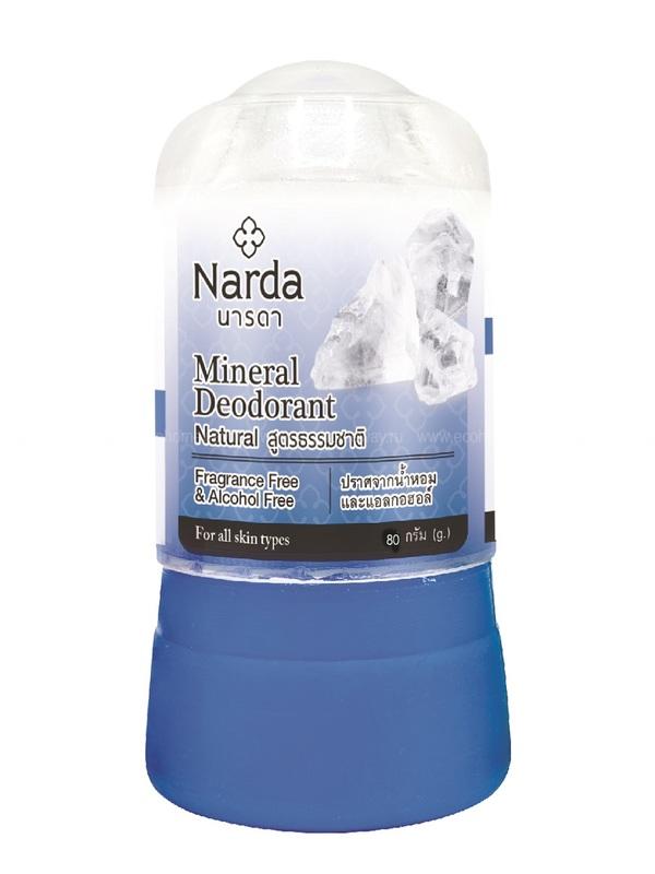 NARDA Дезодорант кристаллический натуральный 80 гр по выгодной цене в Москве