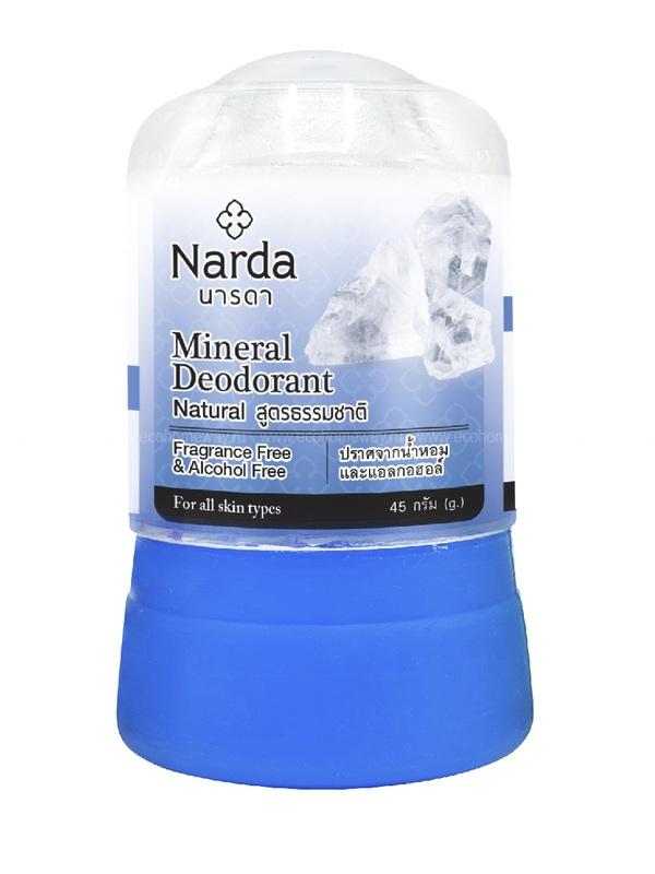 NARDA Дезодорант кристаллический натуральный 45 гр по выгодной цене в Москве