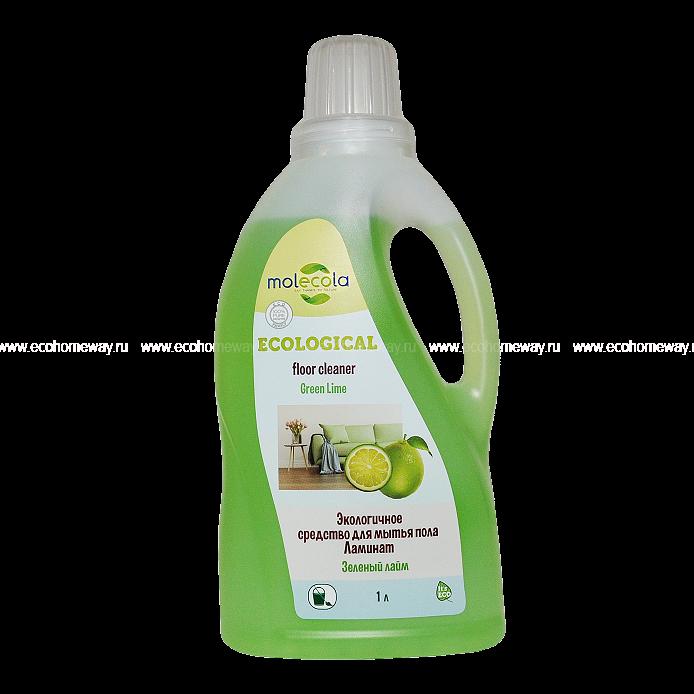 Molecola Экологичное универсальное средство для мытья пола ЛАМИНАТ 1 л по выгодной цене в Москве