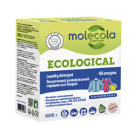 MOLECOLA Экологичный универсальный порошок для стирки КОНЦЕНТРАТ 1000 гр