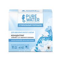 PURE WATER Стиральный порошок для белого белья 800 гр