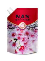 NAN конц. мультикапсульный кондиционер для белья c ароматом японской сакуры, 800 мл