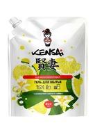 KENSAI конц. гель  для мытья посуды и детских принадлежностей с ароматом лайма 800 мл.