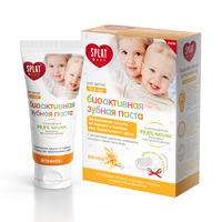 СПЛАТ Baby 0-3 Натуральная зубная паста серии Baby Ваниль 40мл