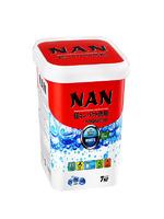 NAN cуперконц. стиральный порошок с кондиционером для белого белья 700 гр.