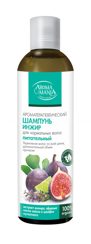 Aromamania Шампунь инжир 250 мл по выгодной цене в Москве