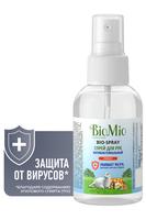 BIO MIO Спрей для рук антибактериальный Грейпфрут 100 мл