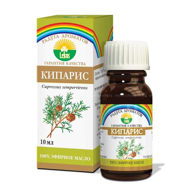 Lekus Эфирное масло Кипарис 10 мл по выгодной цене в Москве