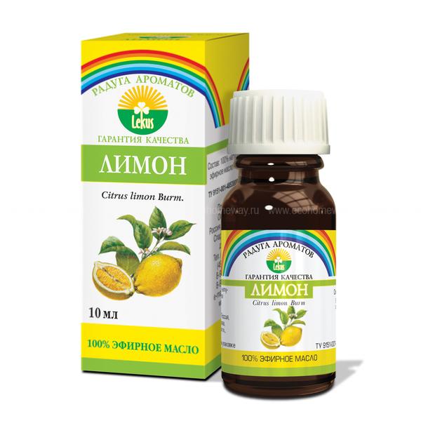 Lekus Эфирное масло Лимон 10 мл по выгодной цене в Москве
