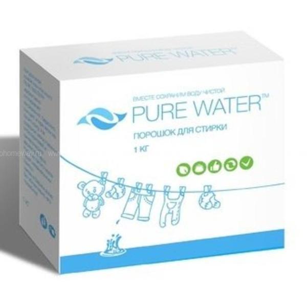 Pure Water cтиральный порошок 1000 гр по выгодной цене в Москве