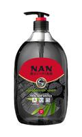 NAN средство для мытья посуды и детских принадлеж.  древесный уголь, флакон с доз. 900мл