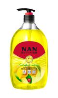 NAN средство для мытья посуды и детских принадлежностей сладкий лимон, флакон с доз. 900мл