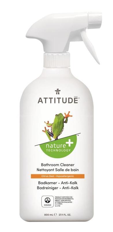 ATTITUDE Очиститель для ванных комнат 800 мл по выгодной цене в Москве