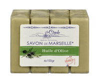LA CIGALE Мыло марсельское с оливой 4*100гр