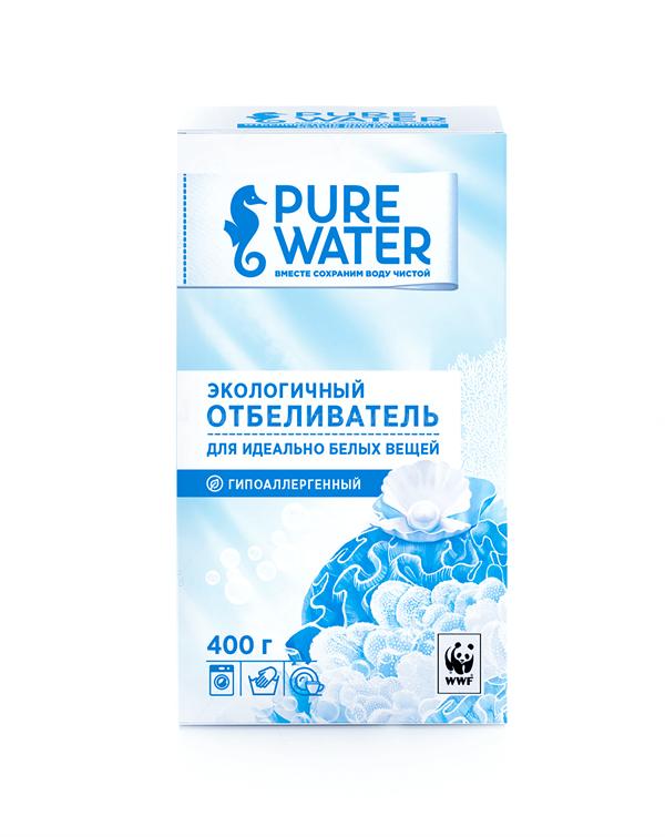Pure Water экологичный отбеливатель 400 гр по выгодной цене в Москве
