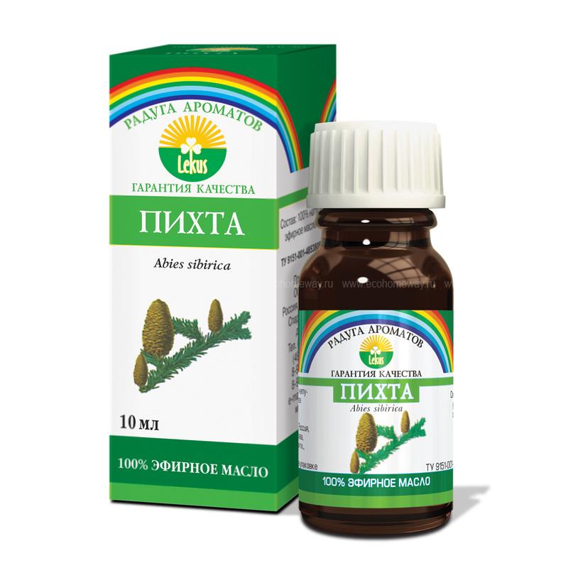 Lekus Эфирное масло Пихта 10 мл по выгодной цене в Москве
