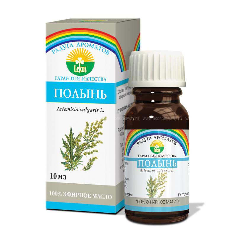 Lekus Эфирное масло Полынь 10 мл по выгодной цене в Москве