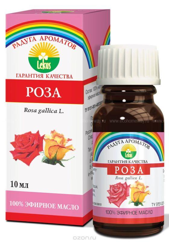 Lekus Эфирное масло Роза 10 мл по выгодной цене в Москве
