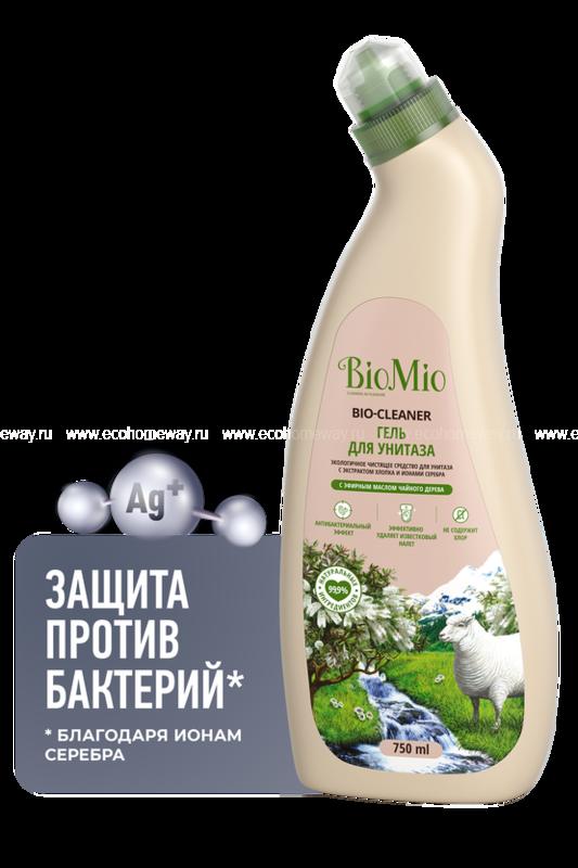 BIO MIO Средство для унитаза Чайное дерево 750 мл по выгодной цене в Москве