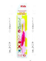 TWIN LOTUS Зубная щетка детская экстра мягкая (розовая) 3-6 лет