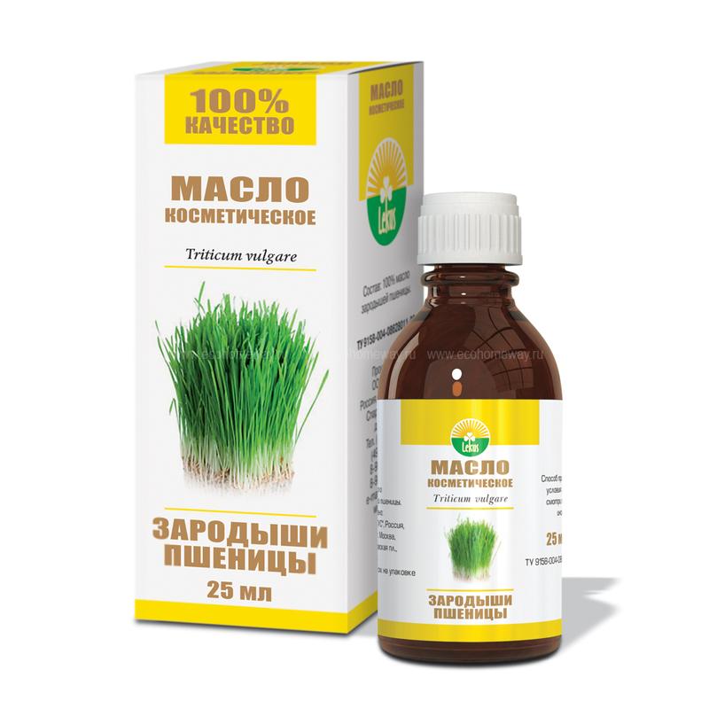 Lekus Косметическое масло Зародыши пшеницы 25 мл по выгодной цене в Москве